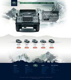 Land Rover Defender by Emerson Bantegui, via Behance