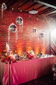 Plan it Terra | Wedding Planners in Saint Louis Jefferson City Mo, Pink Flower Arrangements, Disco Theme, Industrial Wedding Venues, Thing 1, Event Themes, Vintage Theme, Wedding Vendors, Weddings