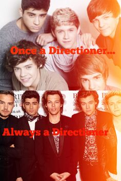 Once a Directioner...Always a Directioner
