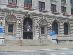 Cleveland's historic library