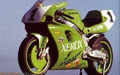 Scott Russell Muzzy Kawasaki Zx7rr World Superbike