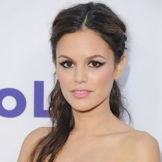 Rachel Bilson's Summer Formal Hair Is Easy to DIY..half up half down with braids...I did a side part version of this for a formal dinner tonight. Was easy and looks great.