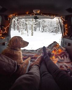 of This looks like life! Life in your van in the . - Jealous of This looks like life! Life in your van in the … -Jealous of This looks like life! Life in your van in the . - Jealous of This looks like life! Life in your van in the … - Van Life . Camping 3, Winter Camping, Camping Hacks, Adventure Awaits, Adventure Travel, Adventure Gear, Beautiful Dogs, Beautiful Places, Vie Simple