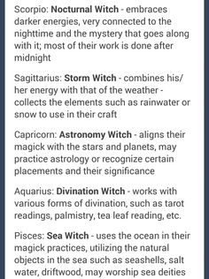 Signs as Witches (2) Capricorn //@gabs354