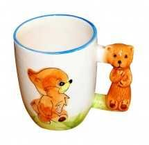 Jungle Party Supplies Fancy Mug- Dog Designed Rs. 79