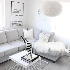 Scandi Living Room, Living Room Interior, Home And Living, Living Room Decor, Living Spaces, Dream Apartment, Apartment Design, Student Apartment, Decor Scandinavian