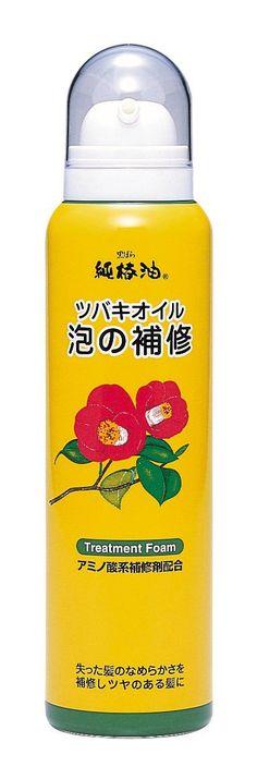 Kurobara Honpo Kurobara Tsubaki Oil   Hair Treatment   Hair Bubble Repair 140g -- More info could be found at the image url.