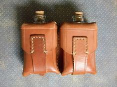 Steampunk Double Canteen Flask  Vintage by CuriosityShopper