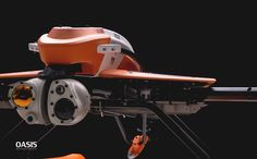 OASIS Aero-naval Unmanned Rescue Machine', a model drone jointly completed in 9 months with the effort of me and my teammate, was our graduation project. Future Inventions, Graduation Project, Drones, Oasis, Behance