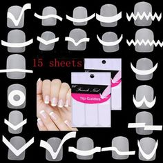 15sheet-set-Nail-Art-Transfer-Stickers-3D-Design-Manicure-Tips-Decal-Decoration