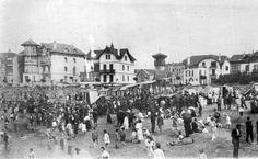 Areetako hondartza / Playa de Las Arenas, años 30 (Cedida por Karla Llanos) (07195)