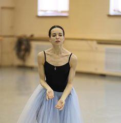"""© Svetlana Avvakum Светлана Аввакум Diana Vishneva Диана Вишнёва, """"Giselle"""" (rehearsal), Mariinsky Ballet"""