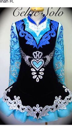Celtic Solo Irish Dance Solo Dress Costume
