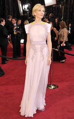 Cate Blanchett in Givenchy at the 2011 Academy Awards.