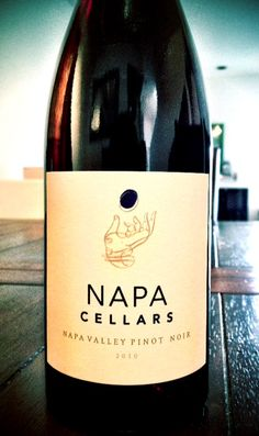 Napa Cellars 2010 Pinot Noir | earthy, full of red fruit! $18