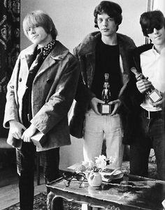 Mick Jagger & Brian Jones