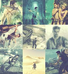 Uncharted. It sounds weird, but I love the story! It's such a fun game to watch:)