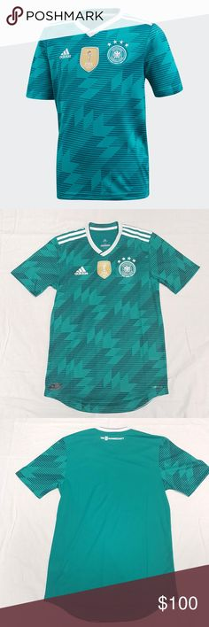 0fd0ab694 adidas Germany DFB 2018 Authentic Away Jersey BR31 adidas Germany DFB 2018 Authentic  Away Jersey BR3143