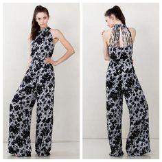 Sugarlips Floral abstract printed jumpsuit now available at shoppinkconfetti.com