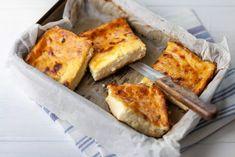 Raňajkový bryndzový koláč (bez múky)   Recepty.sk Atkins, Tiramisu, French Toast, Brunch, Appetizers, Low Carb, Cheese, Snacks, Cooking