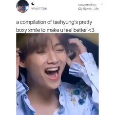 Bts Memes Hilarious, Bts Funny Videos, Bts Boys, Bts Bangtan Boy, Seokjin, Namjoon, Vixx, Kpop, V Smile