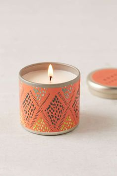 Pretty candle tins - because I hate wax on things.