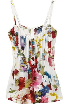 floral print top - Dolce