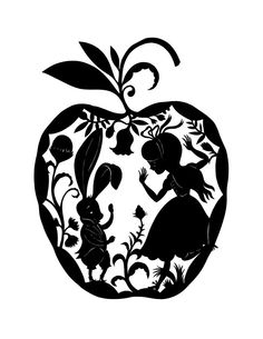 Alice in Wonderland- This would make a cool tattoo.