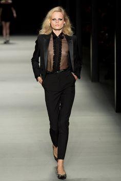 Saint Laurent - Spring/Summer 2014 Paris Fashion Week