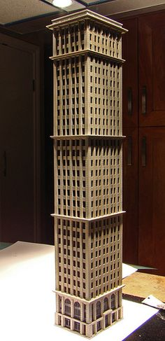 N Scale city models and skyscrapers (future train layout) - SkyscraperPage Forum Minecraft Skyscraper, Minecraft City Buildings, Lego City, Minecraft Projects, Minecraft Stuff, Minecraft Ideas, N Scale Buildings, City Model, Lego Architecture