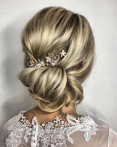 Hairstyle inspiration , updo , wedding hairstyles ,bridal updo ,upstyle #updo #weddinghair braids