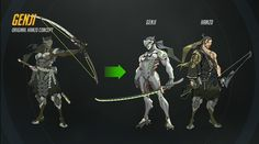 Overwatch Original Hanzo Concept