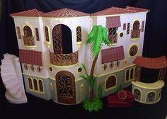 "MGA Huge BRATZ The Movie Mansion Dollhouse Doll House Villa Playset 2Story 26"""