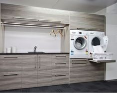 7 Small Laundry Room Design Ideas - Des Home Design Small Laundry Rooms, Laundry Room Organization, Laundry In Bathroom, Organization Ideas, Storage Ideas, Storage Shelves, Bathroom Storage, Ikea Laundry Room, Laundry Baskets
