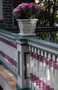 spindles...victorian porch railing