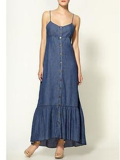 Free People Open Back Tencel Dress | Piperlime / could be amazing with the right accessories