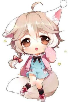by Moorina on deviantART Anime Neko, Lolis Neko, Cute Anime Chibi, Manga Anime, Chibi Kawaii, Manga Kawaii, Kawaii Art, Kawaii Drawings, Cute Drawings