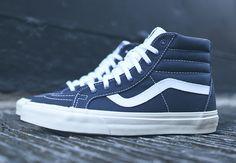 """#Vans Sk8-Hi Reissue """"10 oz Canvas"""" #sneakers"""