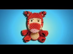 3D Origami Tigger Tutorial - Part 1 - YouTube