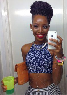 blackgirlsrpretty2:  IG: krishtun 21 Barbados  Glory