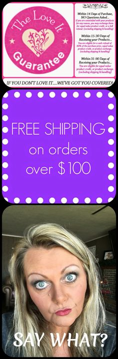 YOUNIQUE PRODUCT AND LOVE IT GUARANTEE: If you don't love it, we've got you covered with our hassle-free return policy.  www.youniquebeachblonde.com