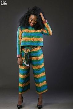 20+ Peplum Top and Pants Ideas For African Women & Men - Reny styles