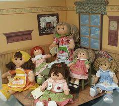 Nadherny pokojicek s panenkami My Doll