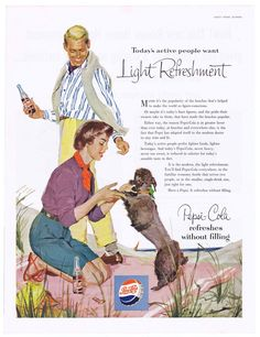 Research Magazine Advertisements. The Best Resource on the Net of Vintage Ads! Pepsi With Quick Food Energy. Your In The Pepsi Gener… Retro Ads, Vintage Advertisements, Vintage Ads, Vintage Posters, Poster Retro, Vintage Soul, Pepsi Advertisement, Funny Advertising, Mad Men Poster