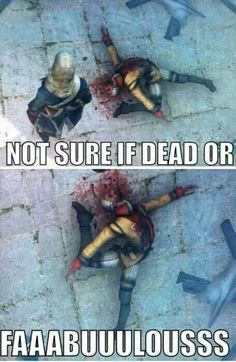 Not sure if dead or.... fabulous!