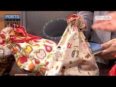 Como fazer um taleigo ou saquinho – Parte 2 - Costura com Riera Alta