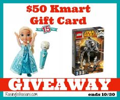 Who's ready for Christmas?!?! Enter to win a $50 Kmart Gift Card! #Giveaway