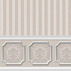 6 SHEETS New dollhouse wallpaper Annabelle by bestroomboxes