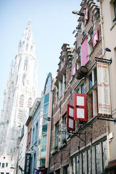 Walking the Sidewalks of Antwerp Belgium   photography by http://www.yelizaticiblog.com/