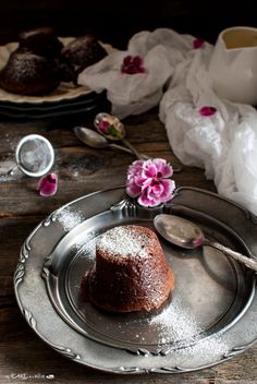 Tortino al (doppio) cioccolato di Sadler _ Double chocolate lava cake